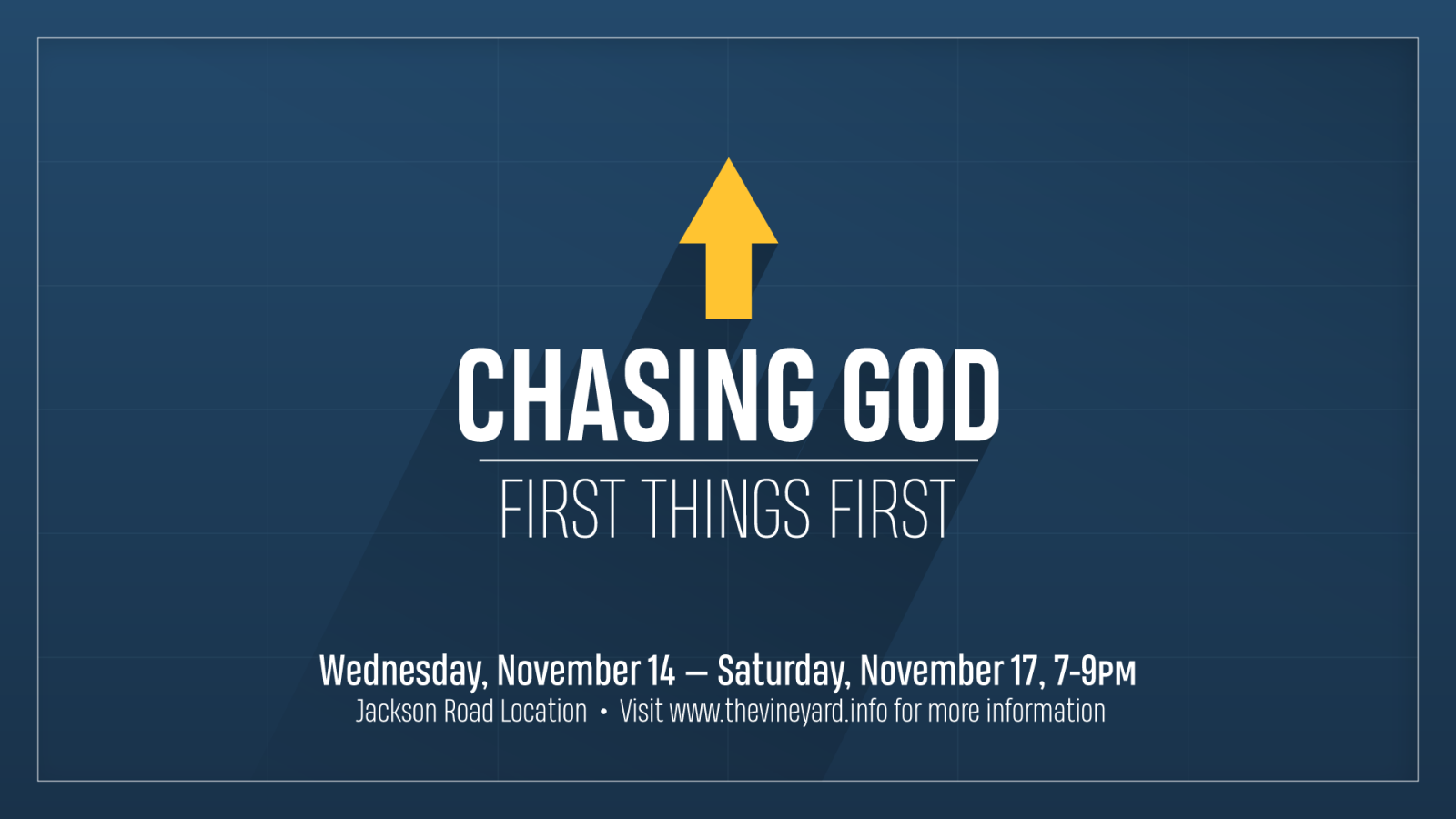 Chasing God 2018